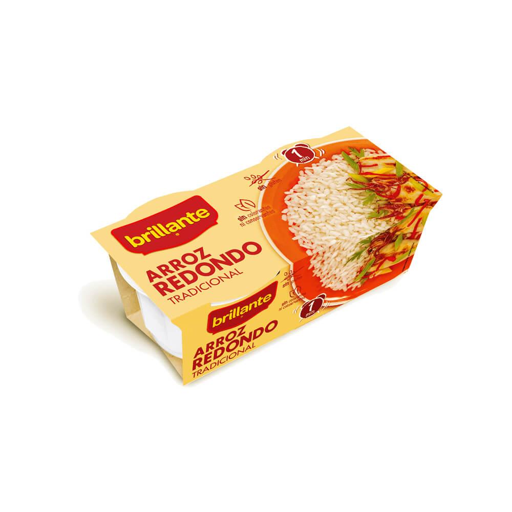 Arroz Redondo Brillante  Pack 2