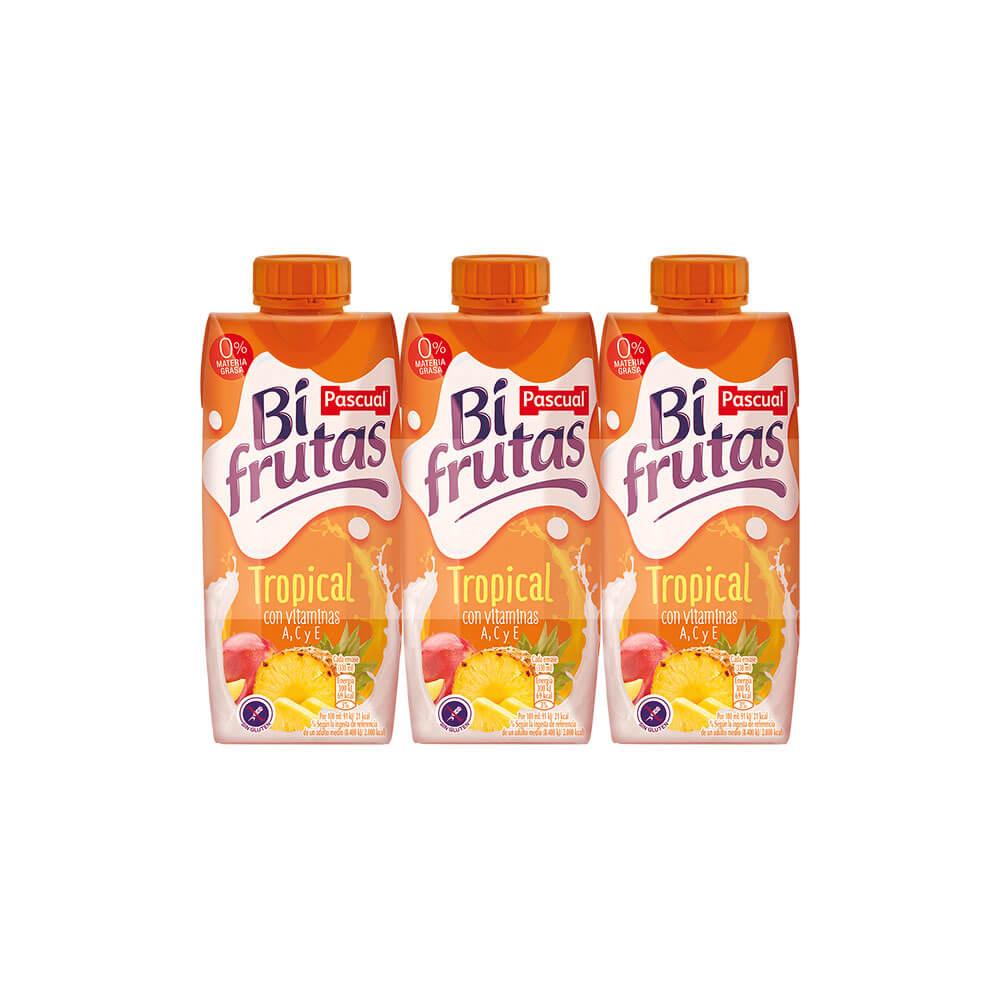 Bi Fruta Tropical Pack 3 33cl
