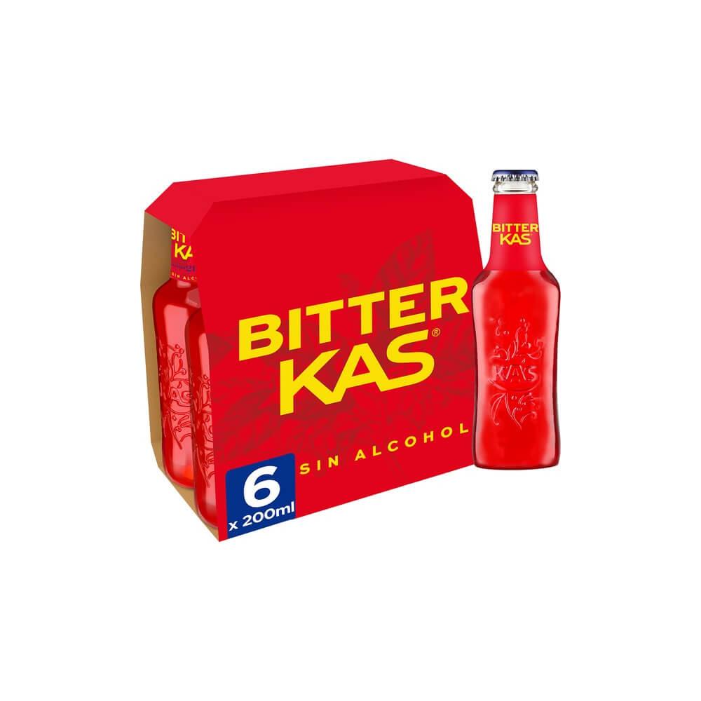 Bitter Kas Pack 6 25cl