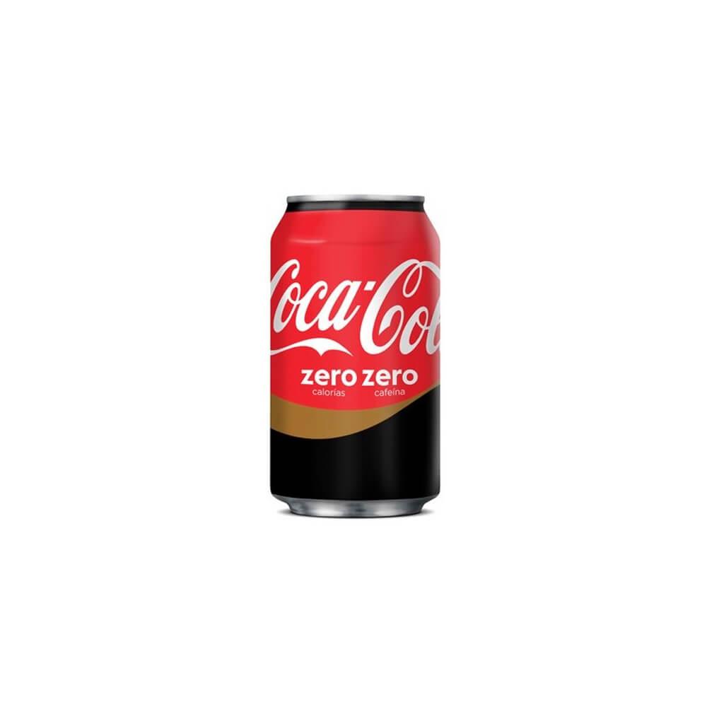 Cocacola Zero Zero Lata 33cl