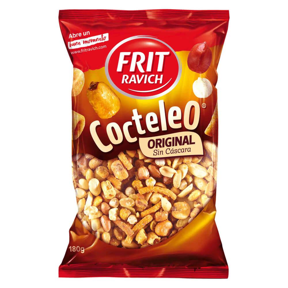 Coctel Sin Cascara Frit Ravich 140g