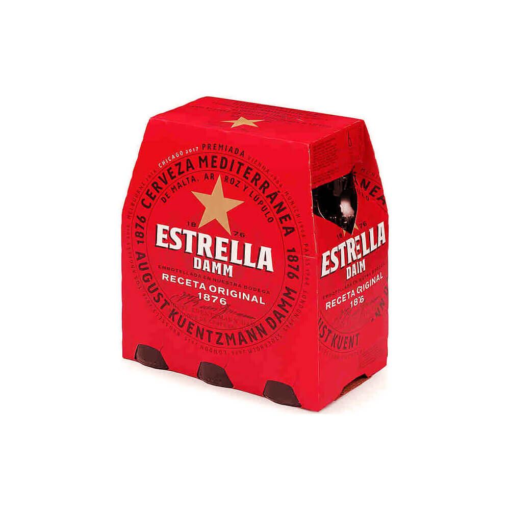 Estrella Damm Pack 6 25cl