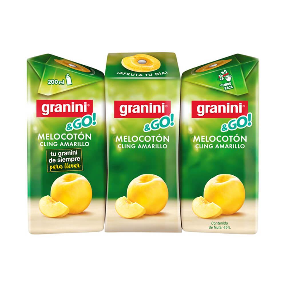 Granini Melocoton Pack 3 20cl