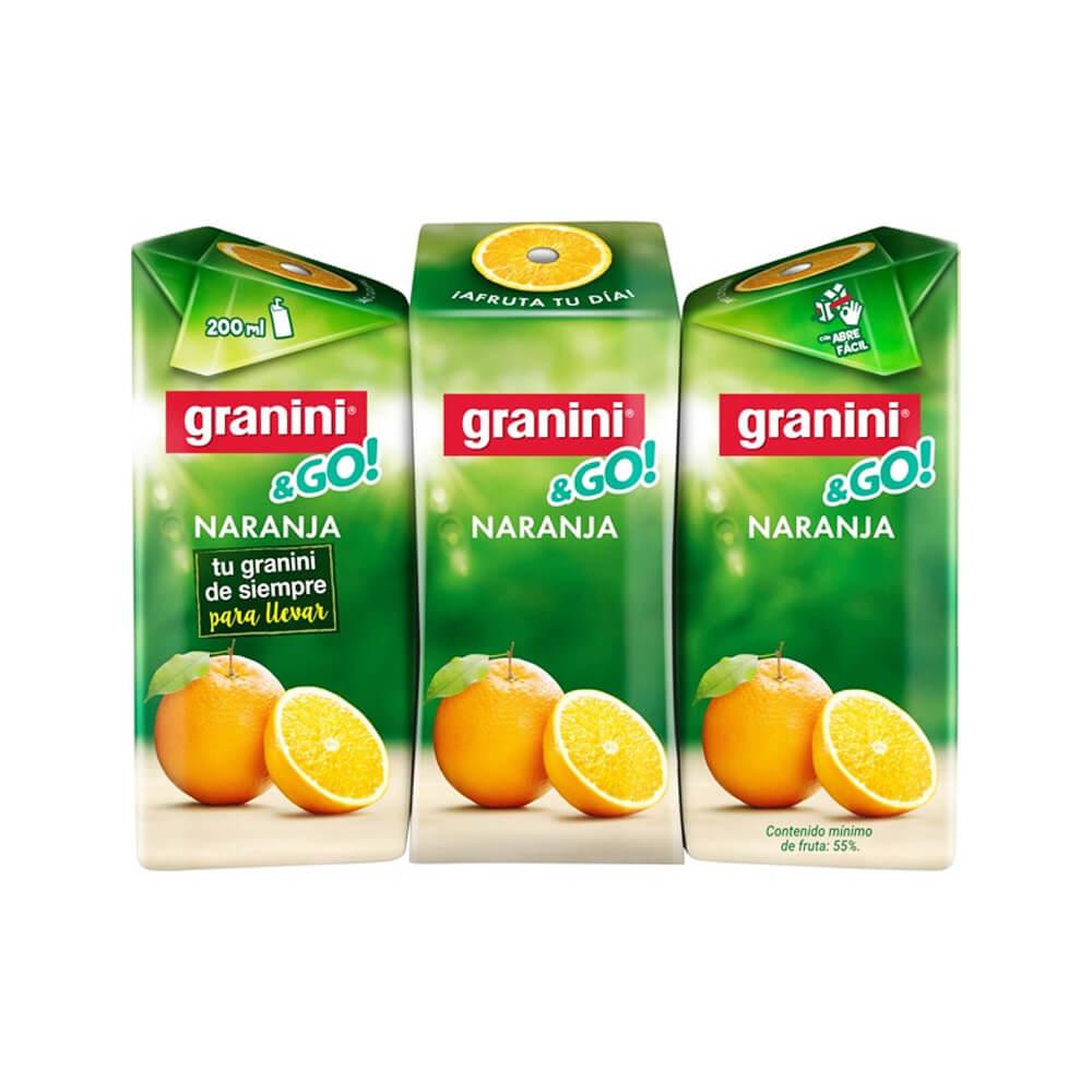 Granini Naranja Pack 3 20cl