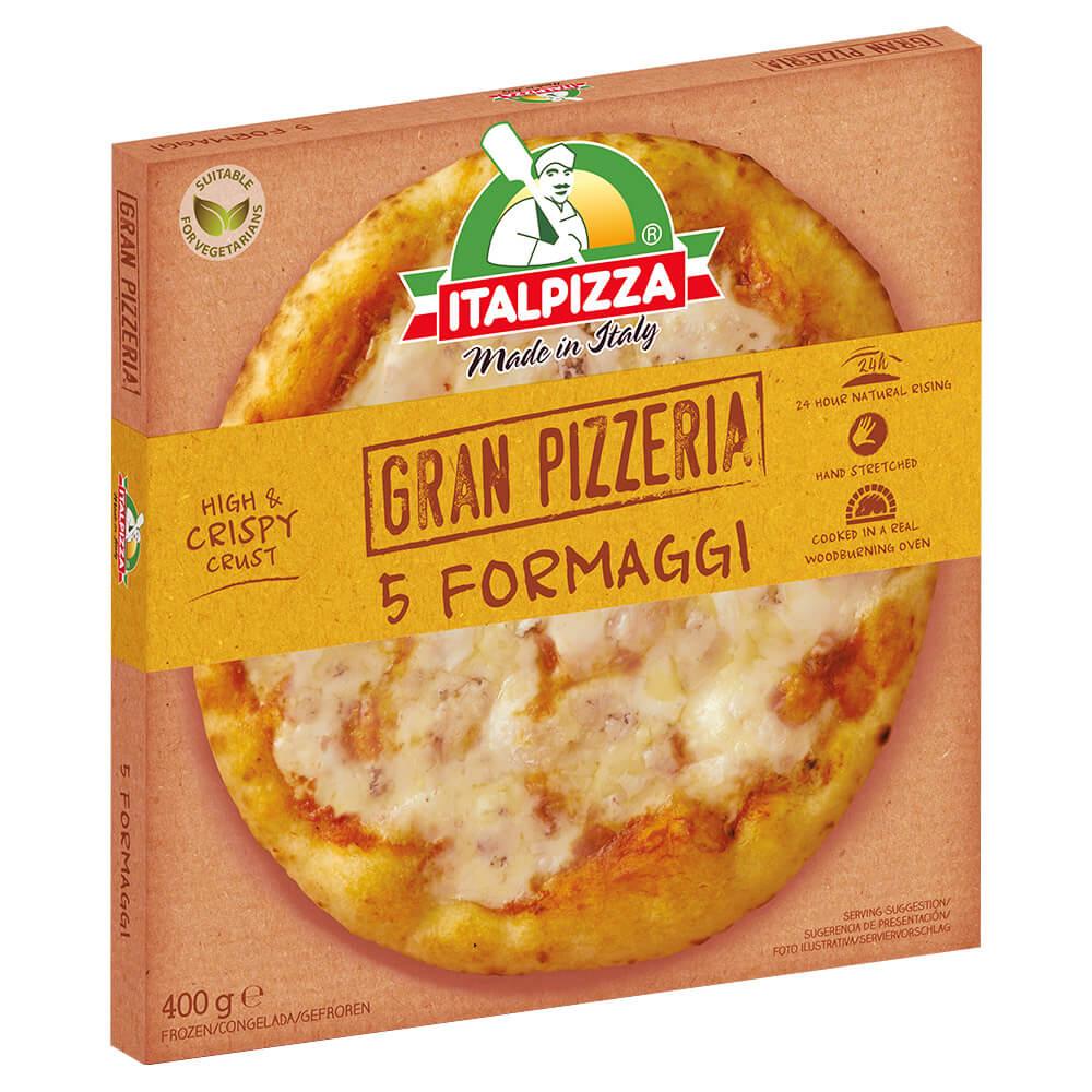 Italpizza 5 Formatgio 400g