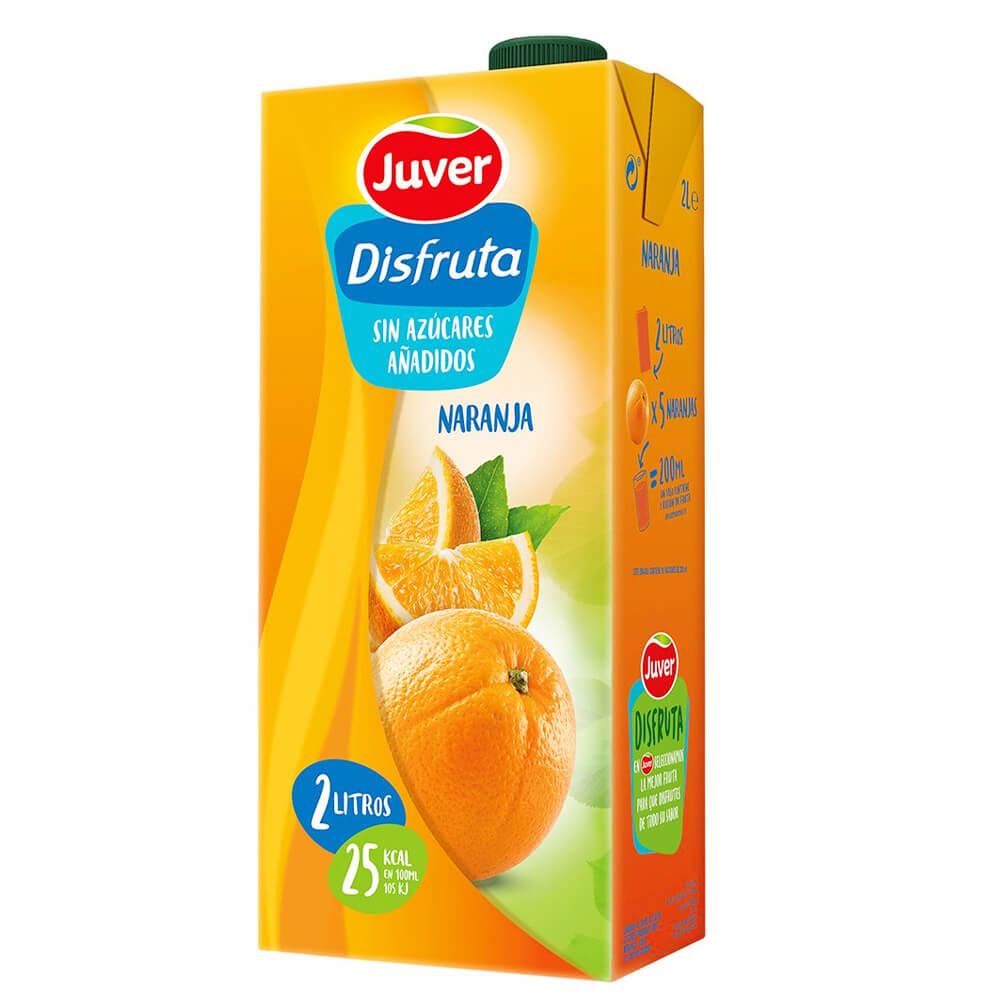 Juver Disfruta Sin Azucar Naranja 1 Litro