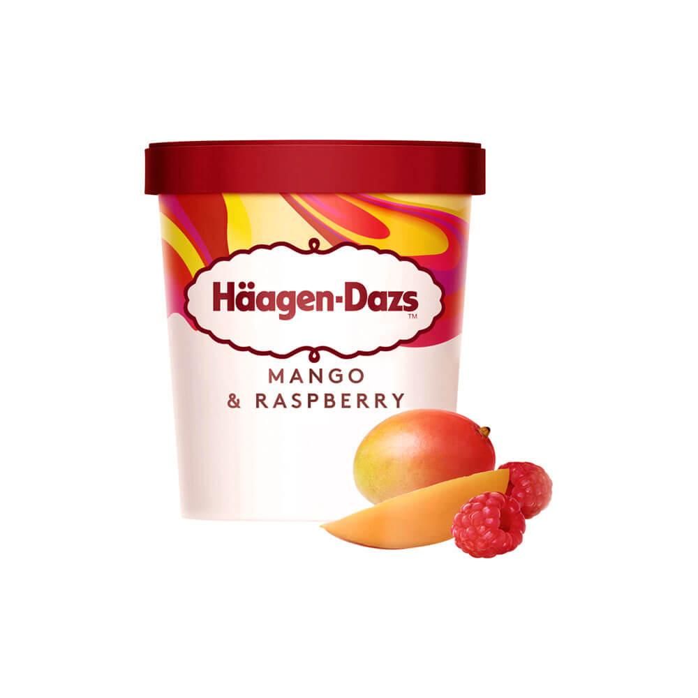 Mango Frambuesa Haggeendaiz