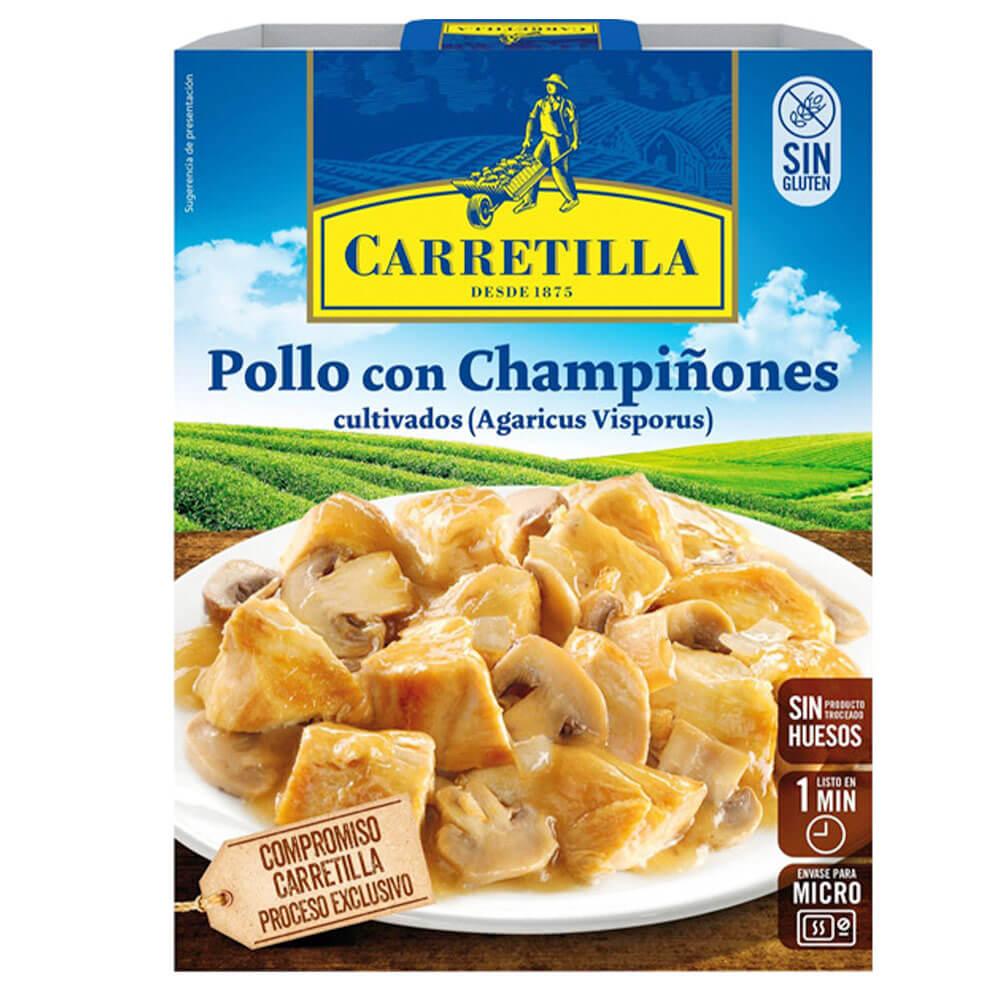 Pollo Con ChampiÑones 250g Carretilla