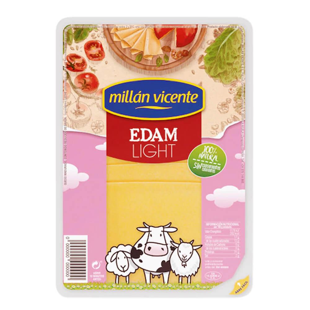 Queso Edam Light Millan Vicent Lonchas 100g