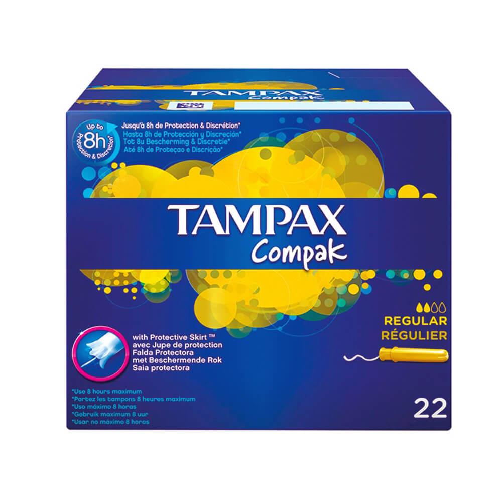 Tampax Regular 22 Unidades
