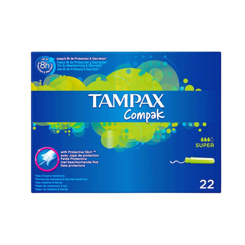 Tampax Super 22 Unds