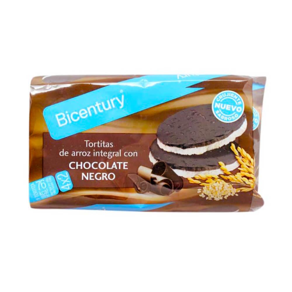 Tortitas Bicentury Chocolate Negro