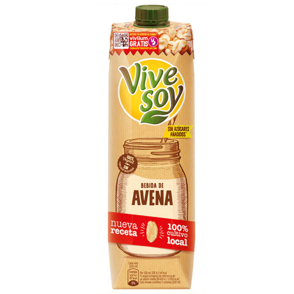 Vivesoy Avena 1 Litro